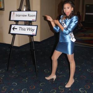 CA Jr Teen Dante on her way to Interviews
