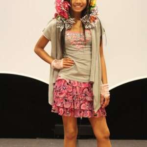 LeAnn Divino All American Jr. Pre-teen --- lovin' her crazy hair ;-p  America's next top crazy hair model! LOL!