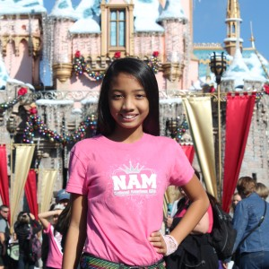 LeAnn Divino Jr. Pre-teen All American havin' fun @ Disney!