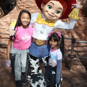 LeAnn Divino Jr. Pre-teen All American & BFF sis Asia with Jessie of Toy Story ;-)
