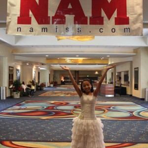 LeAnn Divino Jr. Pre-teen All American - proud to be a NAM girl!!!