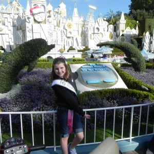 Kelsee at Disney (Its a Small World)