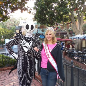 Miss Colorado and Jack Skellington!