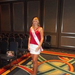 Miss Colorado rocking Red, White, and Blue!
