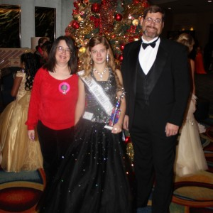 Rachel Marx (preteen, Leadership) with her family.