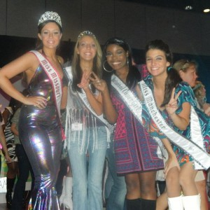 Miss Missouri Teen & Friends @ the 70's party