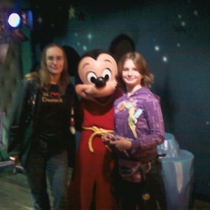 Mom and Me with Mickey!