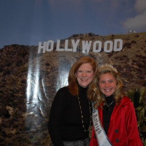 Mrs. Mayes - National & State Director with All-American Pre-Teen Alexandria Murphy