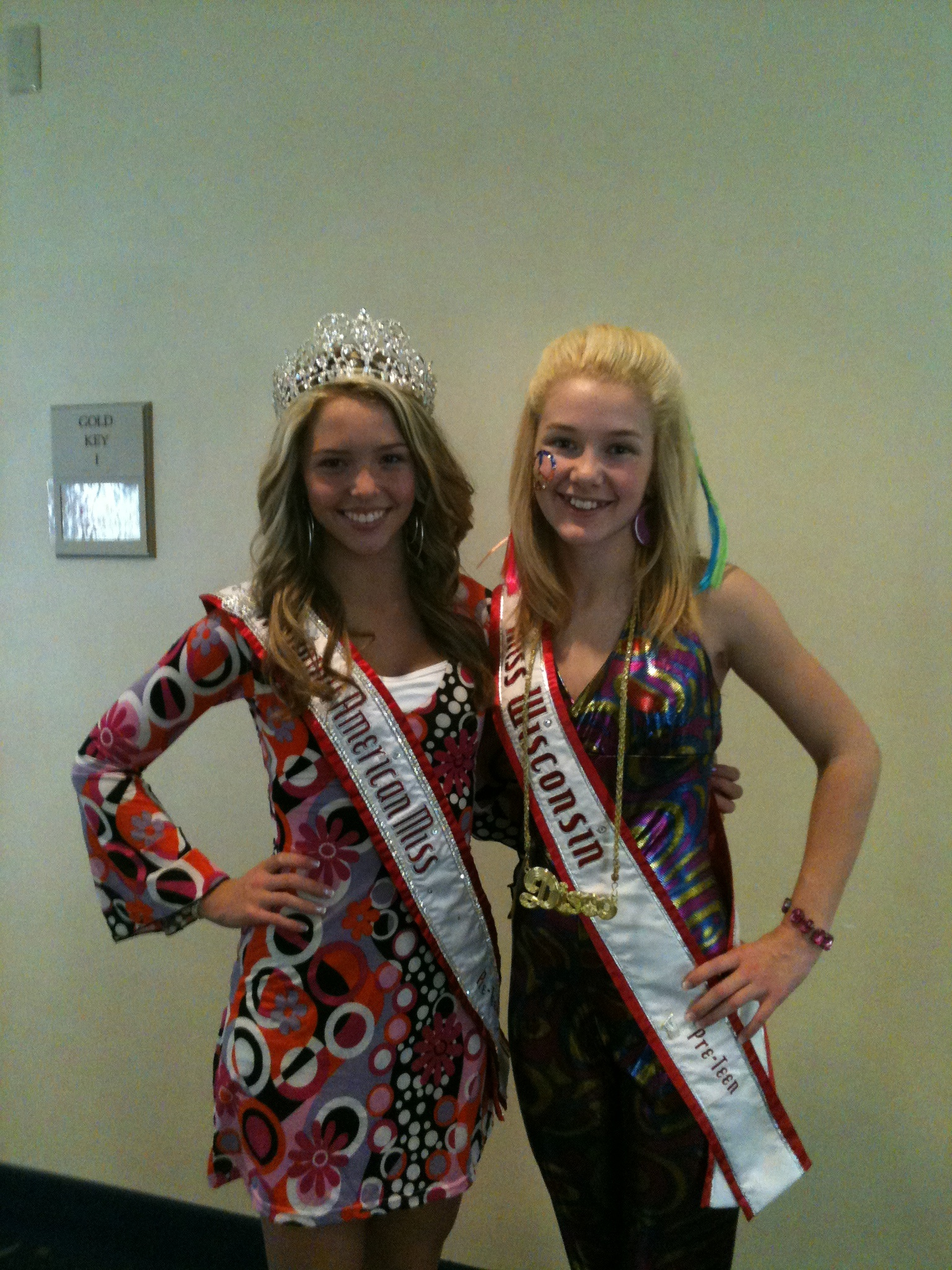 NAM Preteen Lexi Collins & Miss Wisconsin Pre-Teen Brittany