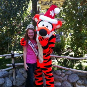 Miss Illinois with Tigger