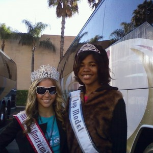 Spechelle Goodwin with the NAM National Preteen Queen