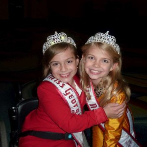 Miss Nebraska and Miss Georgia