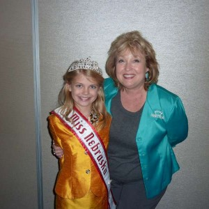 Lani Maples and Angel Strong, Miss Nebraska