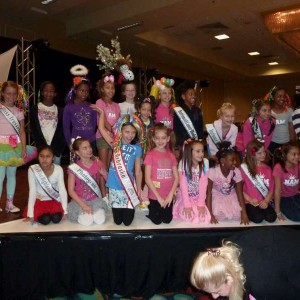 Miss Nebraska with NAM Friends with Crazy Hair