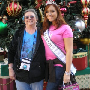 Grandma and I at the Disney Christmas Tree