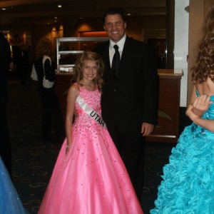 Rachel Wright and Dad