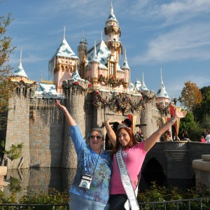 Happy to be at Nationals...and DISNEYLAND!