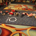 Preteen Team Leadership spells out NAM