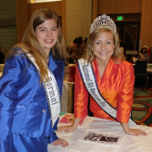 Rachel Marx of Team Leadership with Preteen All American Miss