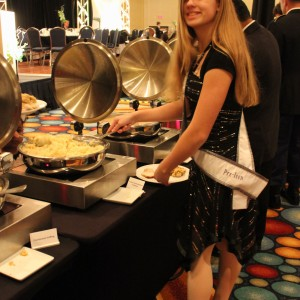 Rachel Marx (preteen, Leadership) anticipating the feast