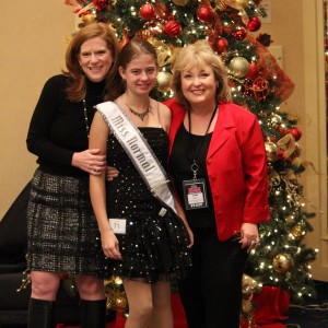 Rachel Marx with Mrs. Mays and Mrs. Maples