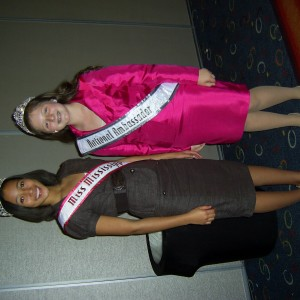 Abby and  her state queen Ryon Thompson (mississippi)