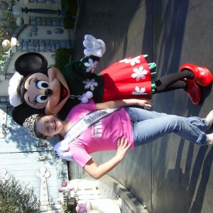 Minnie and Abby