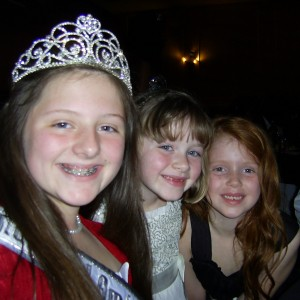 My two new princess friends Jacquelyn and zoey!