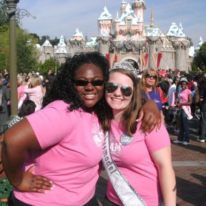 2 of Team Character in front of Castle!!!