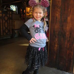 Corinne Comisky sporting her Mickey Ears!