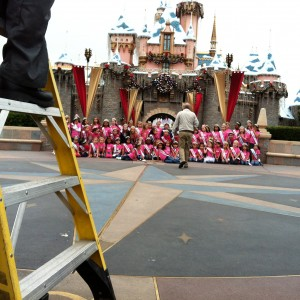 NAM Princesses at the Disneyland photoshoot!