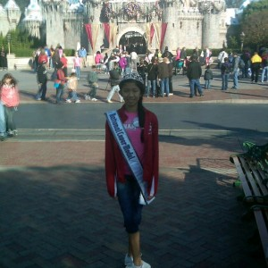 NJ Pre-teen Cianna Winkler at Disneyland!!!