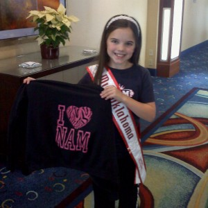 Miss Oklahoma Anna Lunday loves NAM!