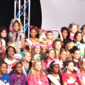 PreTeen Girls at the Crazy Hair Rehearsal!