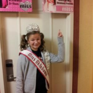 Kaylea Bixler sporting her NAM spirit!!