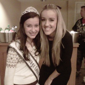 So Ca Pre-teen Danielle Deweese with Ca State Director Megan Alexander