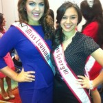 Making new friends! Miss Georgia and Miss Louisiana Teen