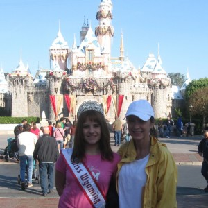 Miss Wyoming Pre-Teen, Olivia Mercer, and her mom, Tara Mercer, about to enjoy the day!