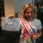 Miss Indianarockin her home-made sign for 10th anniversary!