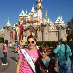 Kaitlin and Will Kanfield at Disneyland