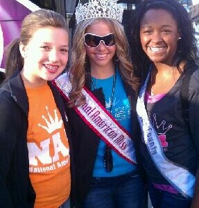 Victoria Newlove preteen, Team Leadership with National Queen Lexi and team member Kirrah