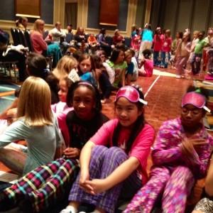 Pajama Rehearsal with friends