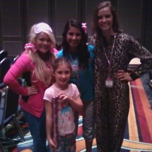 Pajama Rehearsal with choreographers