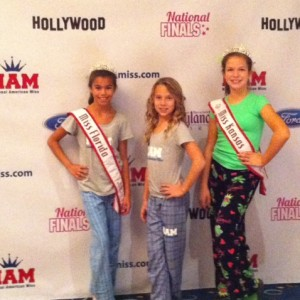 Mia Gryniuk and Team Service Jr PreTeen