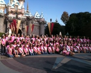 Miss Indiana and all the Preteen Royalty at Disneyland!