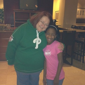 Tiana McGee with NAM State Director Patti Schnieder