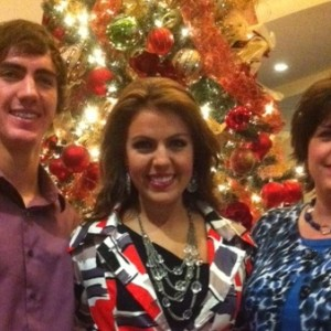 Victoria Tramell enjoying family time!
