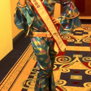 Merrill Diddy - Miss Iowa Preteen ready for the 70's theme party!
