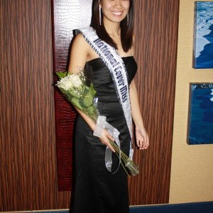 National Cover Miss Megan Viola-Vu going to the Thanksgiving Banquet