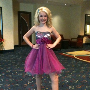 Miss WI Pre-teen, Brittany Georgia, ready for Top Model optional contest